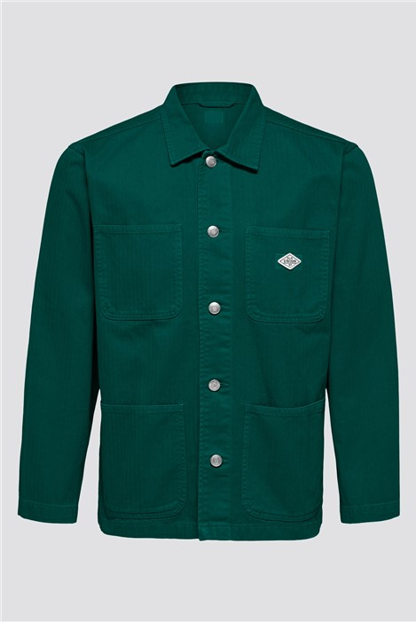 Selected Homme Tony Overshirt in Green