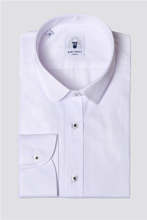 Marc Darcy Arthur White Classic Fit Shirt