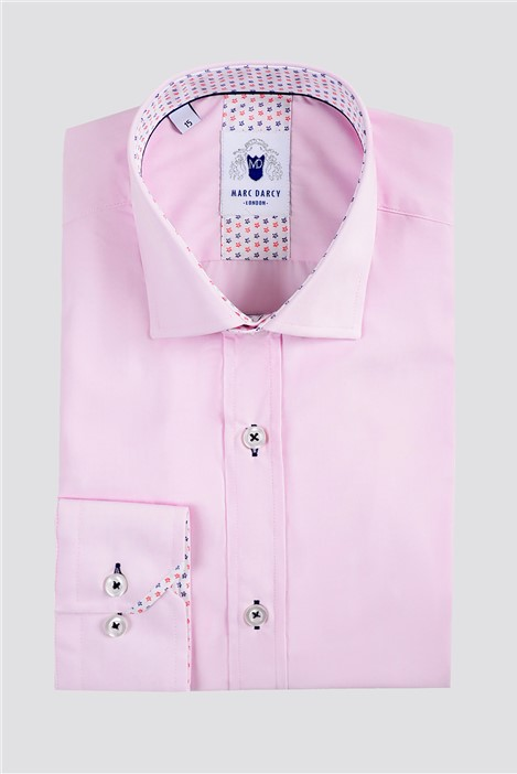Marc Darcy Sergio Pink Classic Fit Shirt