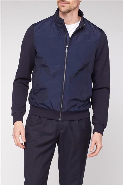 Jeff Banks Navy Bomber Jacket