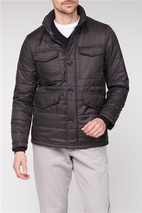 Jeff Banks Four Pocket Quilted Jacket