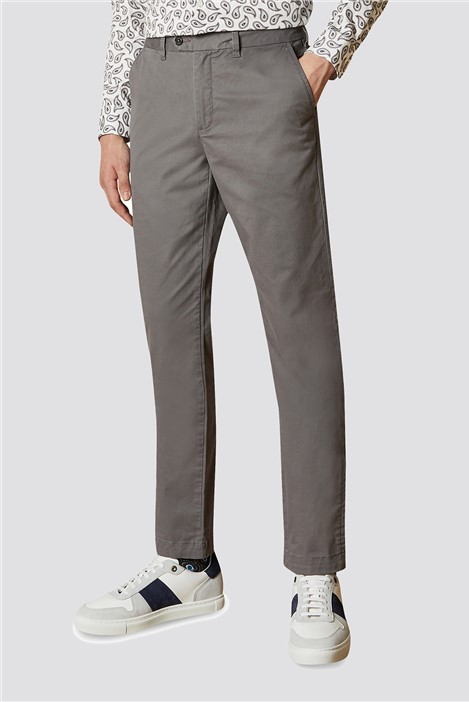 Ted Baker Grey Slim Fit Chino Trouser