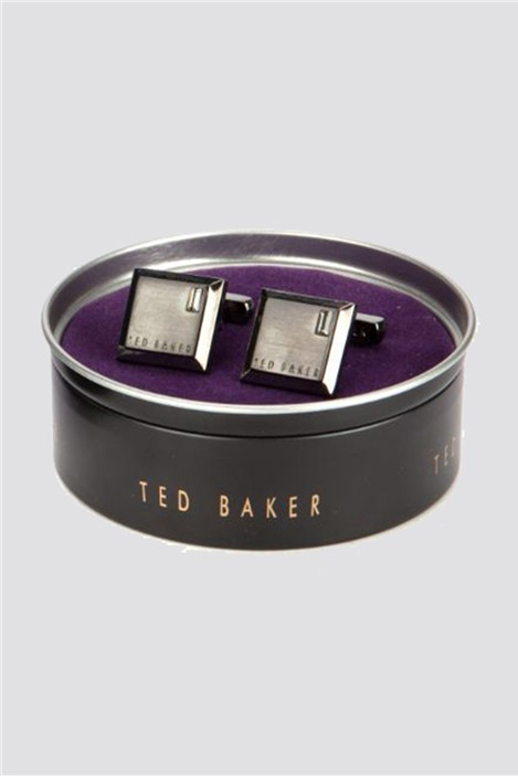 Ted Baker Square Contrast Cufflinks