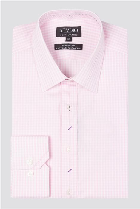 Stvdio Jeff Banks Long Sleeve Check Shirt