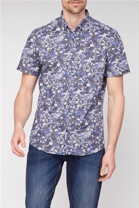 Jeff Banks Short Sleeve Floral Shirt