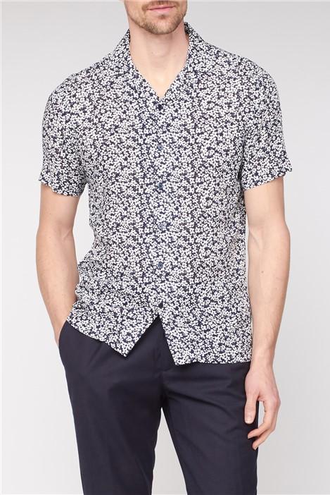 Jeff Banks Viscose Floral Print Shirt