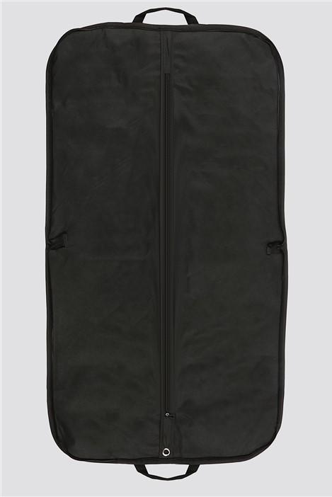 Unclassified Plain Black Suit Bag
