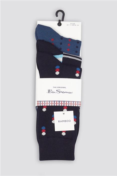 Ben Sherman Apollo Multipack Socks