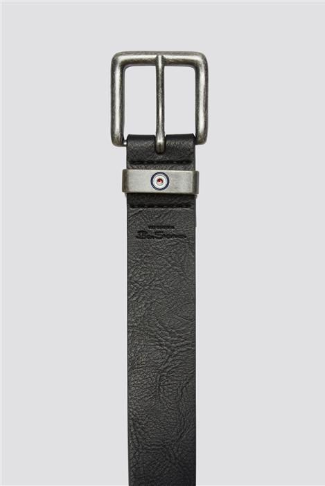 Ben Sherman Black Lynton Belt