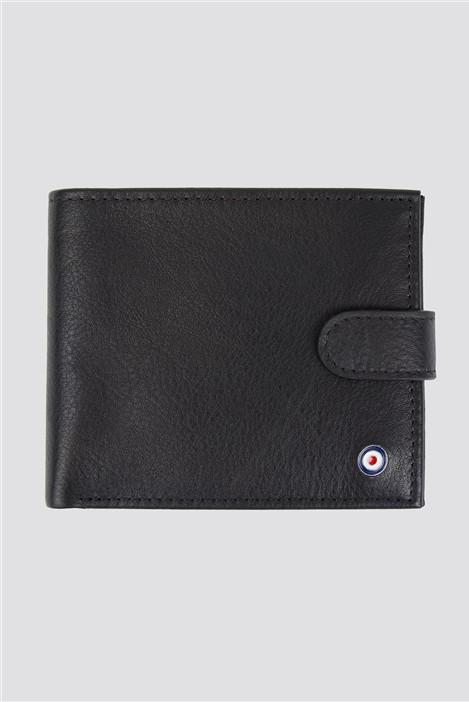 Ben Sherman Absolom Coin Bifold Wallet - Black