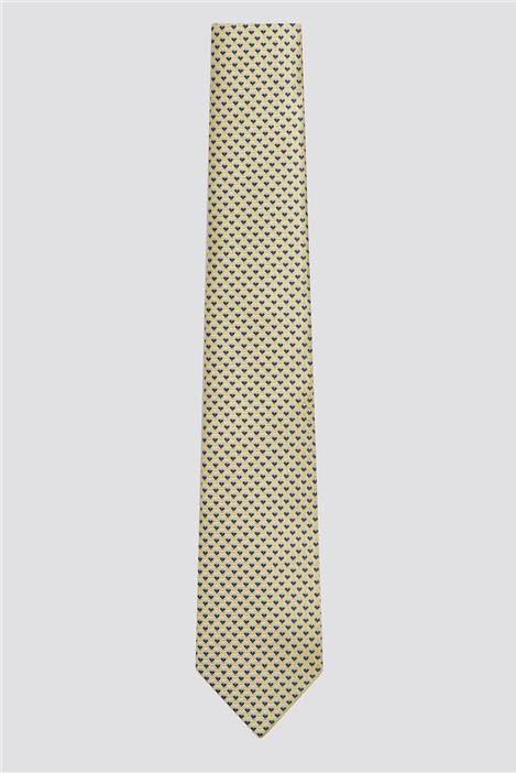 Racing Green Yellow & Blue Geometric Tie