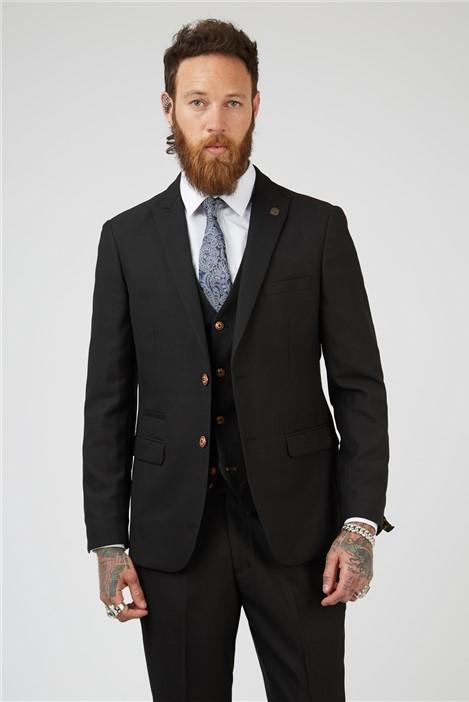 Marc Darcy Max Black Suit Jacket