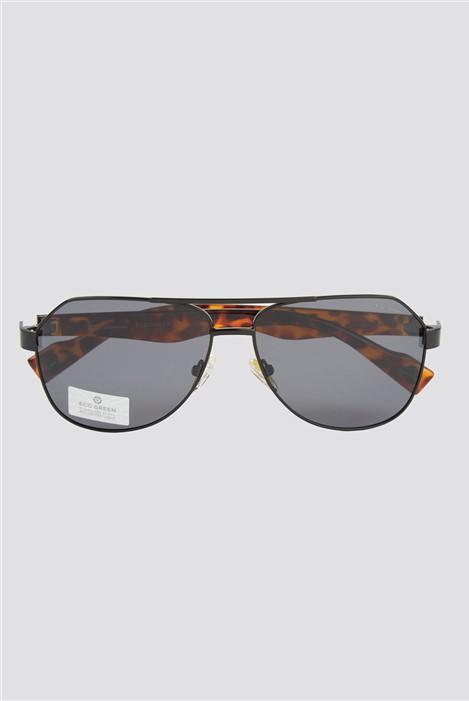 Ben Sherman Script Modern Aviator Sunglasses