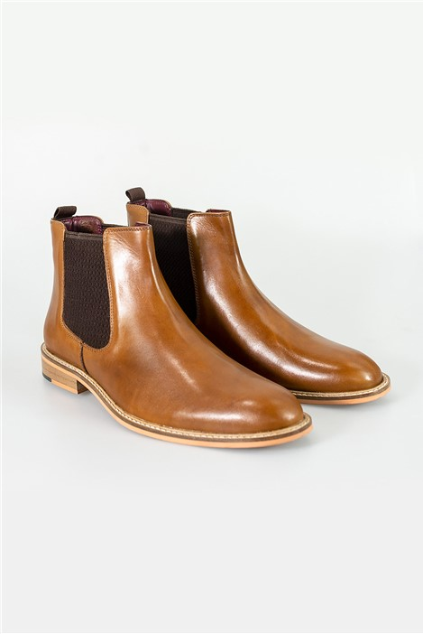 House of Cavani Tan Watson Boots