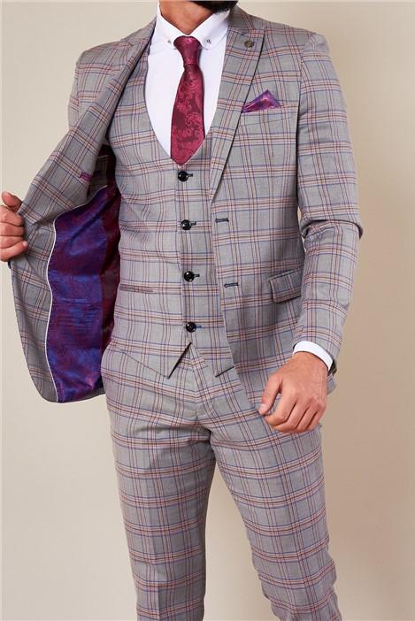 Marc Darcy Alvin Grey Three Piece Suit