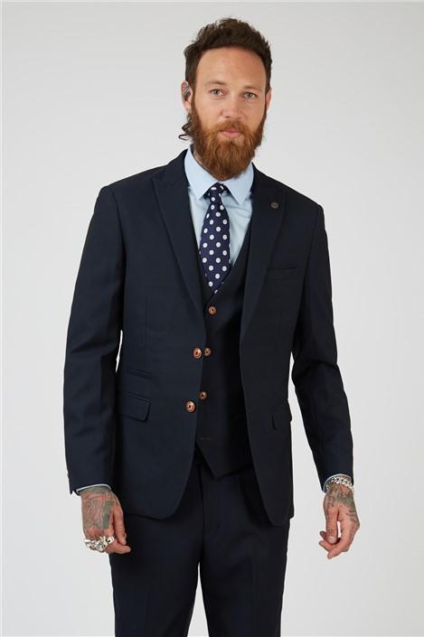 Marc Darcy Max Navy Suit Jacket