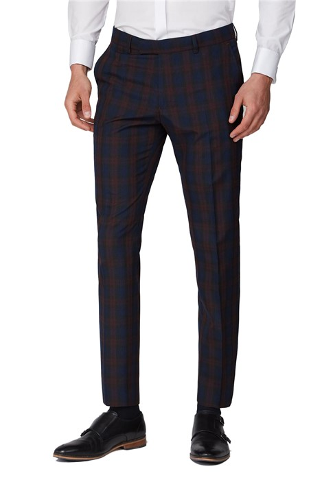 Antique Rogue Red Tartan Trousers