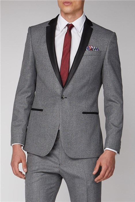 Antique Rogue Grey Plain Suit