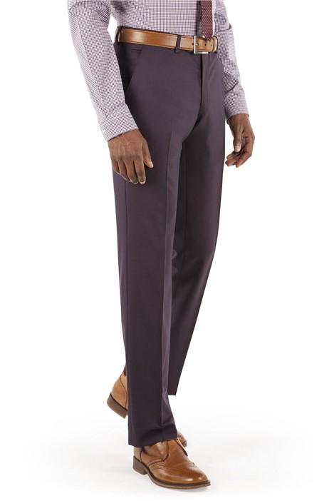 Ben Sherman Plum Tonic Kings Fit Suit Trouser