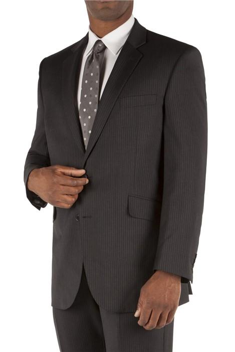 British Tailor Grey Stripe Suit