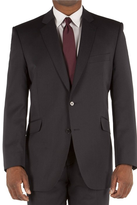 British Tailor Big+Tall Navy Stripe Suit