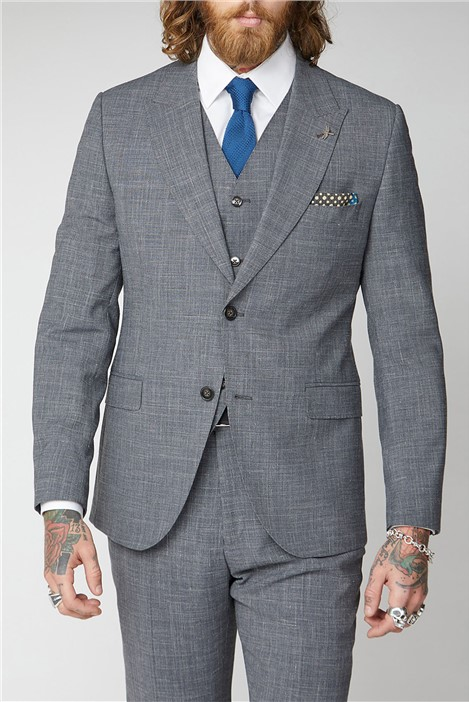 Gibson London Gibson Grey Textured Suit