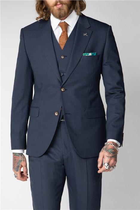 Gibson London Mid Blue Plain Suit