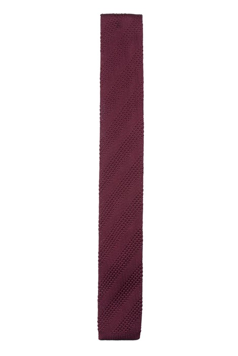 Gibson London Berry Knitted Tie