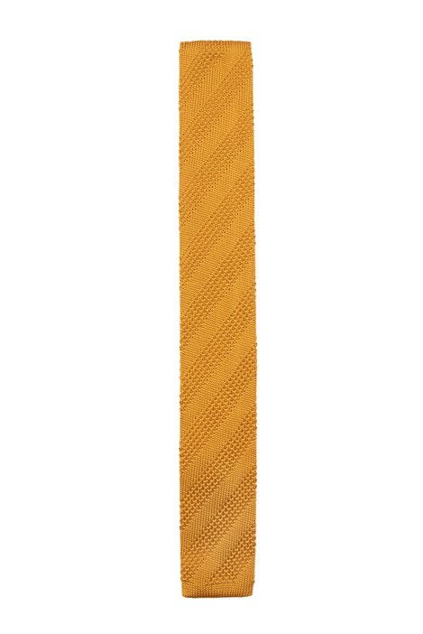 Gibson London Gold Knitted Tie