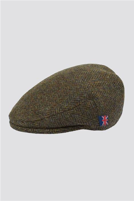 Gibson London Brown Harris Tweed Hat
