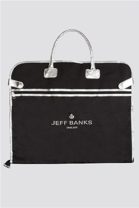 Jeff Banks Silver Trim Suit Carrier