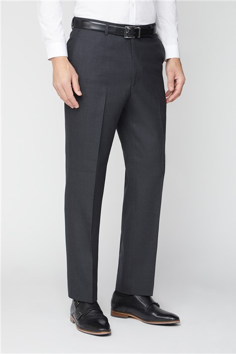 The Label Classic Charcoal Birdseye Trouser