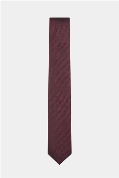 Limehaus Red Self Stripe Tie