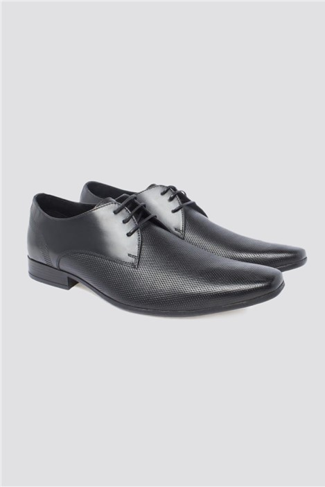 Limehaus Black Whitehall Lace Up Shoe