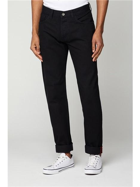 Ben Sherman 5 Pocket Black Slim Jean