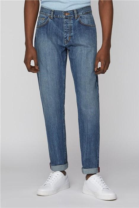 Ben Sherman Light Wash Slim Fit Jean