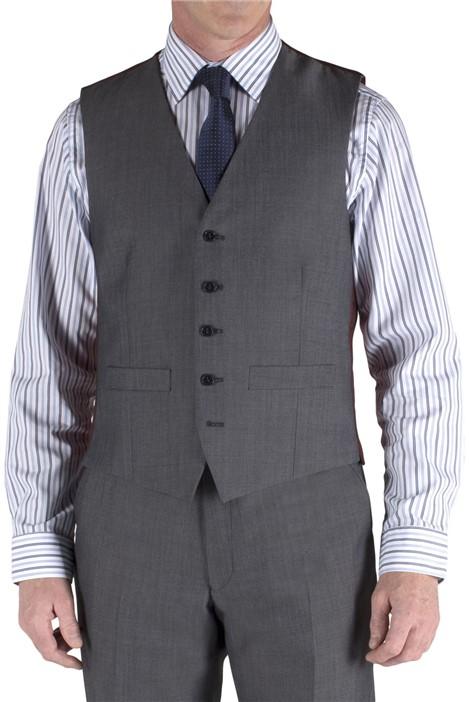 Pierre Cardin Grey Tonic Regular Fit Suit Waistcoat