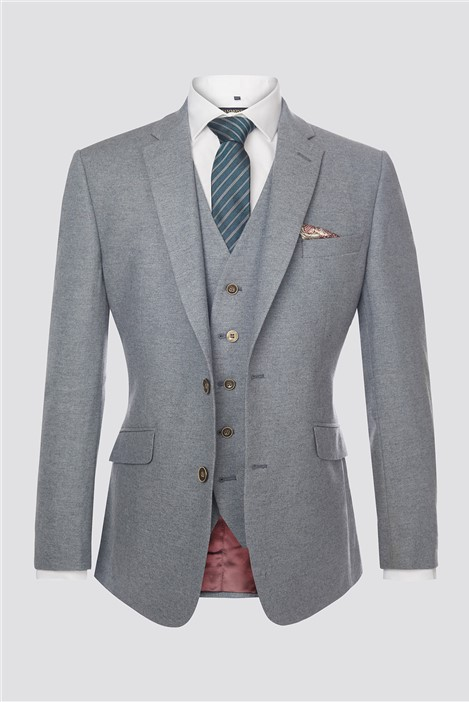 Scott by The Label Grey Donegal Waistcoat