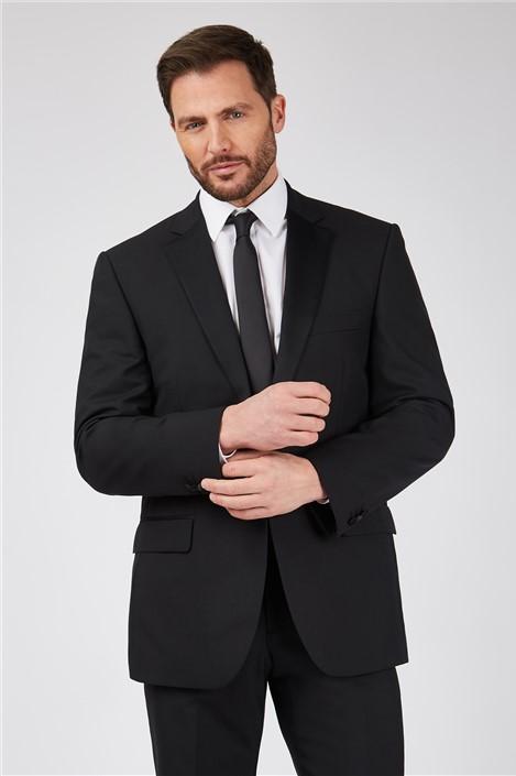 Scott by The Label Black Slim Fit Dinner Suit