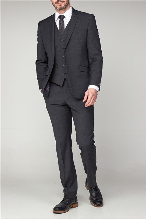 Scott by The Label Charcoal Waistcoat