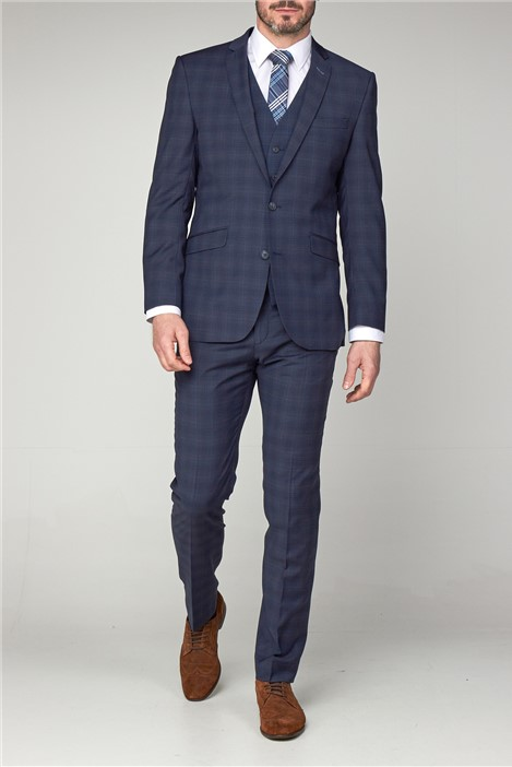 Scott by The Label Contemporary Airforce Check Suit