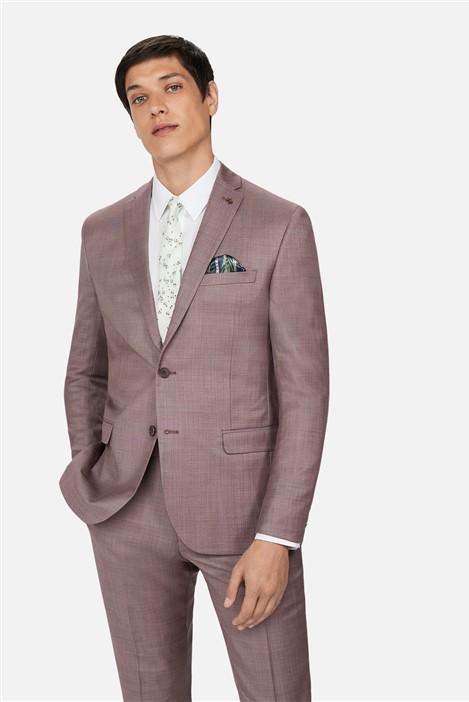 Ted Baker Dusky Pink Slim Suit