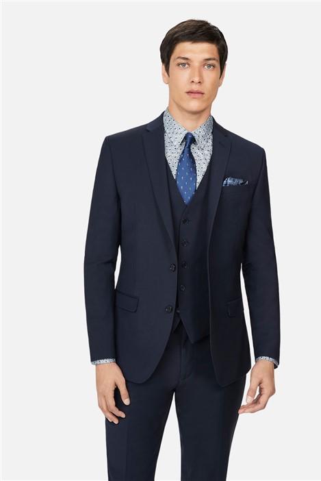 Ted Baker Navy Panama Skinny Suit