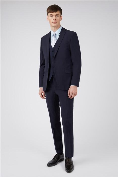 Ted Baker Navy Panama Regular Suit