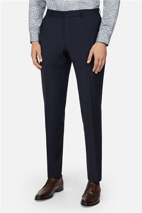 Ted Baker Navy Panama Skinny Suit Trousers