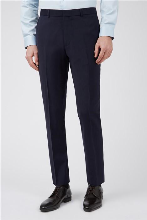 Ted Baker Navy Panama Slim Suit Trouser