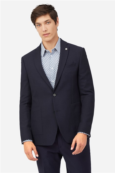 Ted Baker Navy Structure Jacket