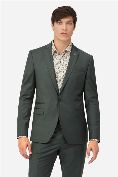 Ted Baker Khaki Plain Suit