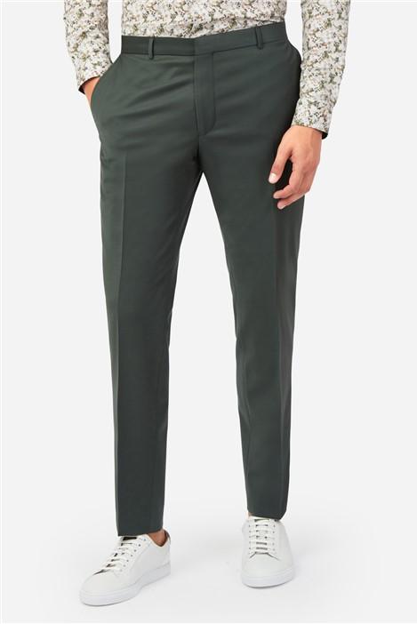 Ted Baker Khaki Plain Suit Trousers