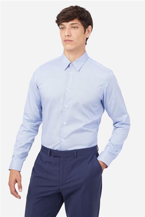 Ted Baker Blue Semi Plain Shirt